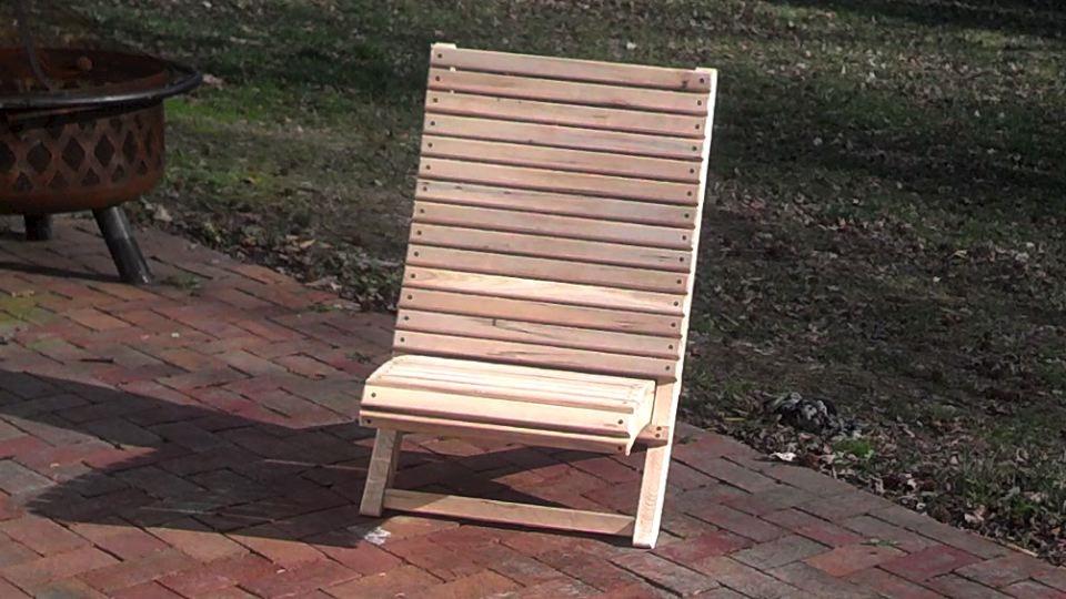 scissor chair plans 2