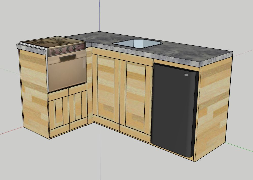 11 harmonious kitchenette plan architecture plans 37255 for Kitchenette plan